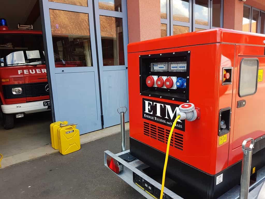 Notsrtom für Feuerwehren und Gemeinden