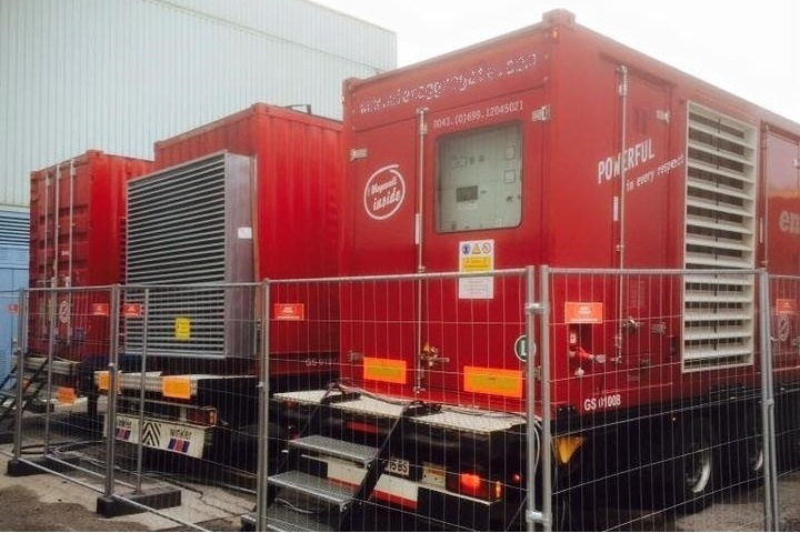 Mietaggregate in Containerbauweise bis 1500 kVA
