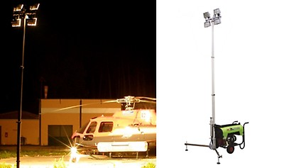 Lichtmast PRAMAC LIGHT TOWER 4x 500W